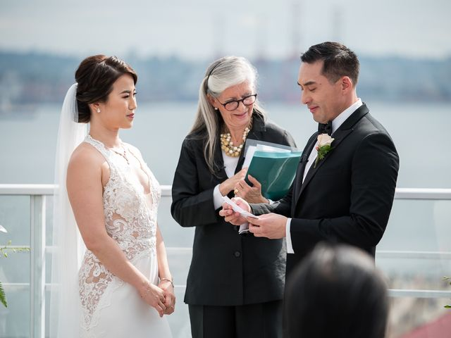 Vincent and Jane's wedding in North Vancouver, British Columbia 39