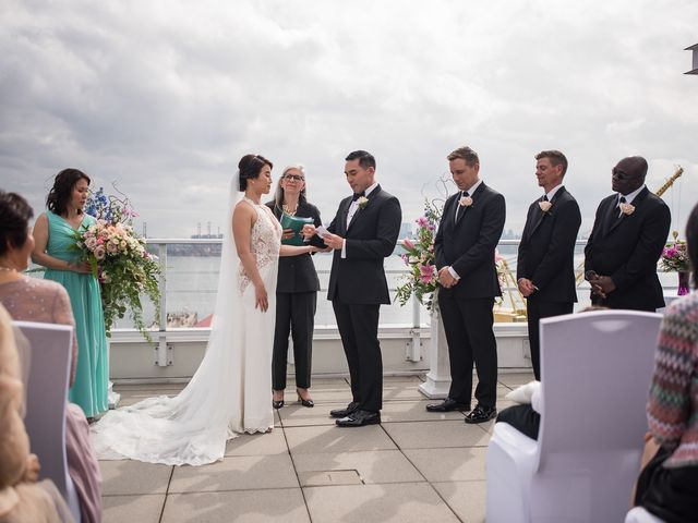 Vincent and Jane's wedding in North Vancouver, British Columbia 41