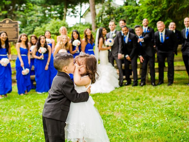 The wedding of Cindy and Stjefan