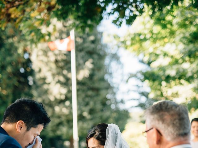 Will and Hana's wedding in Vancouver, British Columbia 37