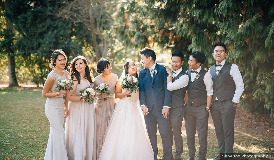 Will and Hana's wedding in Vancouver, British Columbia