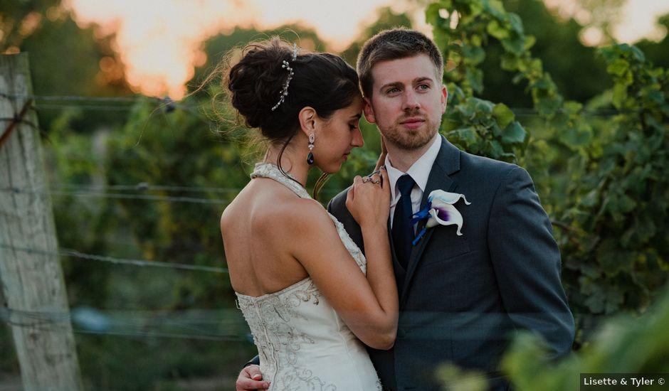 Tyler and Lisette 's wedding in Amherstburg, Ontario