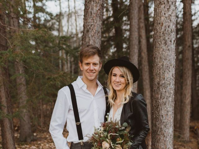 Keith and Alicia's wedding in Canmore, Alberta 5