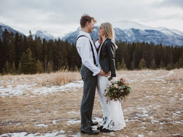 Keith and Alicia's wedding in Canmore, Alberta 11