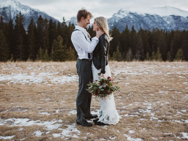 Keith and Alicia's wedding in Canmore, Alberta 13