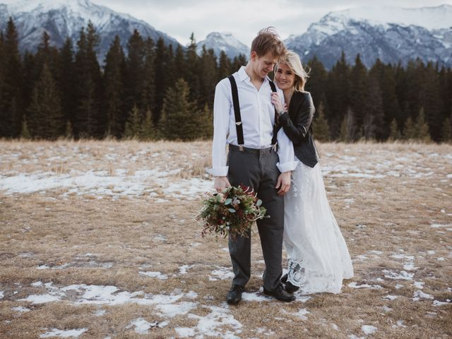 Keith and Alicia's wedding in Canmore, Alberta 14
