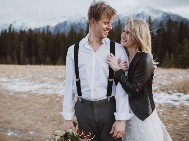 Keith and Alicia's wedding in Canmore, Alberta 16