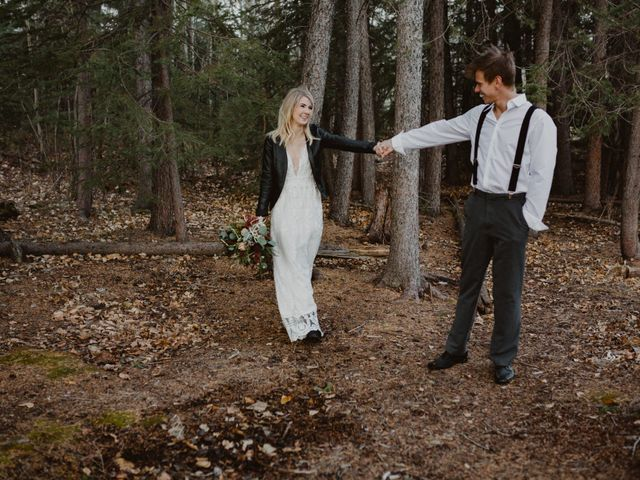 Keith and Alicia's wedding in Canmore, Alberta 21