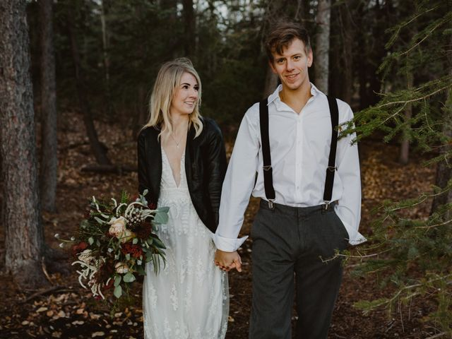 Keith and Alicia's wedding in Canmore, Alberta 22