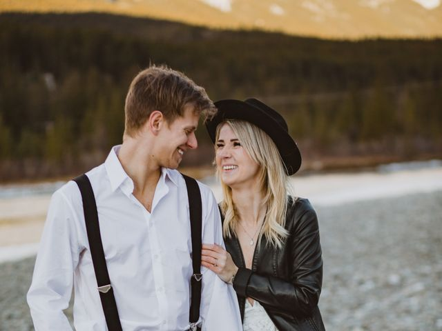 Keith and Alicia's wedding in Canmore, Alberta 30