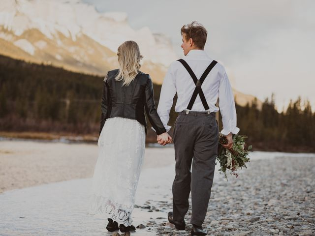 Keith and Alicia's wedding in Canmore, Alberta 34