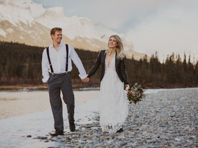 Keith and Alicia's wedding in Canmore, Alberta 35