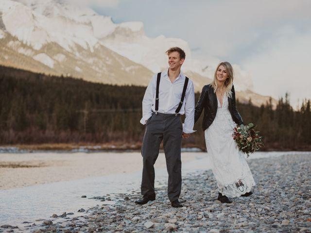 Keith and Alicia's wedding in Canmore, Alberta 36