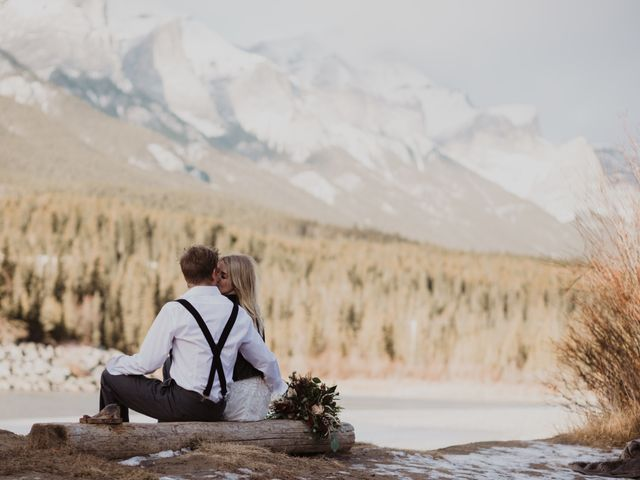 Keith and Alicia's wedding in Canmore, Alberta 42