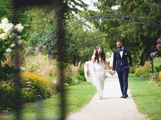 The wedding of Sahar and Arya