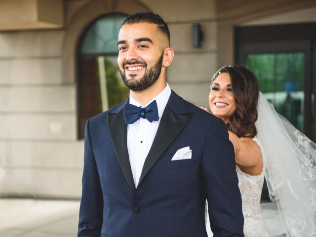 Arya and Sahar's wedding in Scarborough, Ontario 1