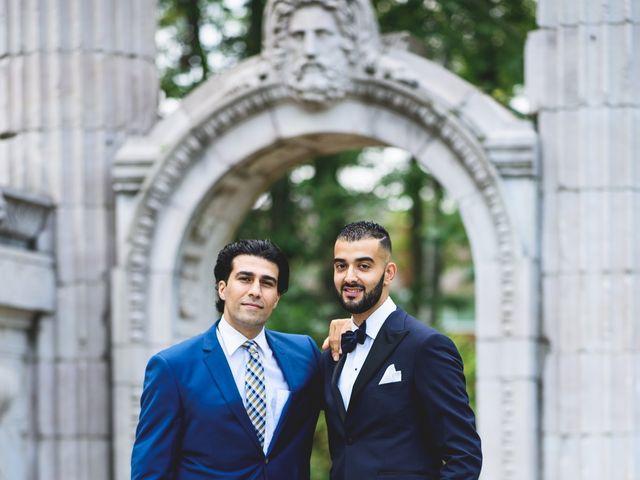 Arya and Sahar's wedding in Scarborough, Ontario 19