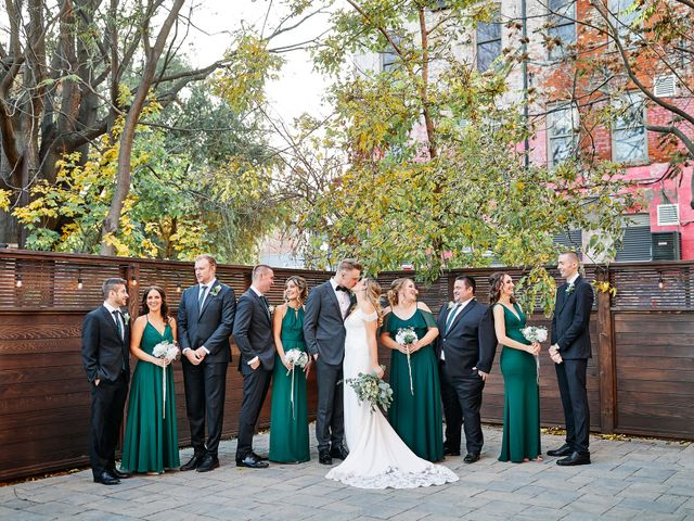Graeme and Abigail's wedding in Hamilton, Ontario 1