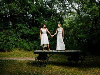 The wedding of Jess and Athena