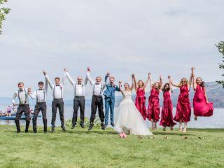 The wedding of Josephine and Nick