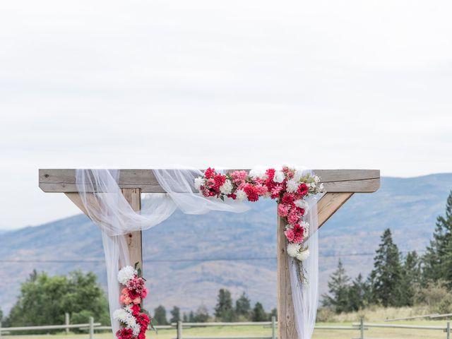 Nick and Josephine's wedding in Peachland, British Columbia 4