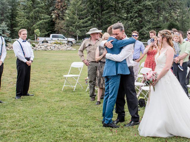 Nick and Josephine's wedding in Peachland, British Columbia 6