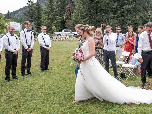 Nick and Josephine's wedding in Peachland, British Columbia 7