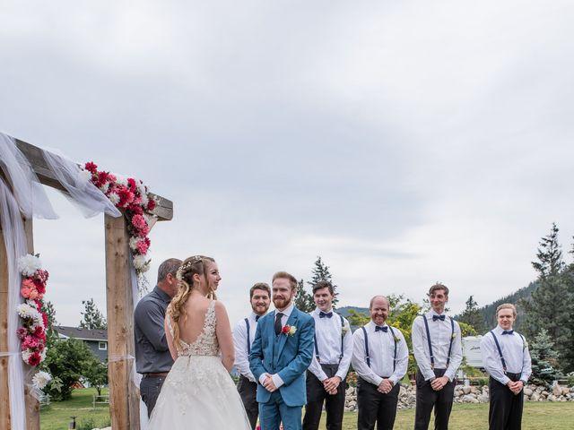 Nick and Josephine's wedding in Peachland, British Columbia 8