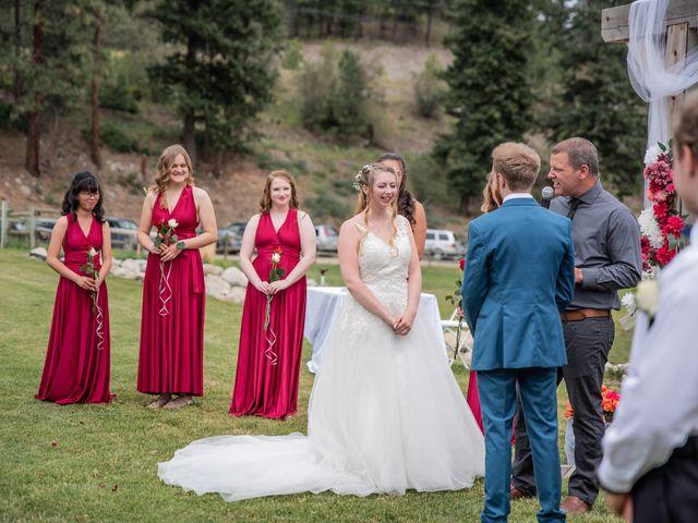 Nick and Josephine's wedding in Peachland, British Columbia 9