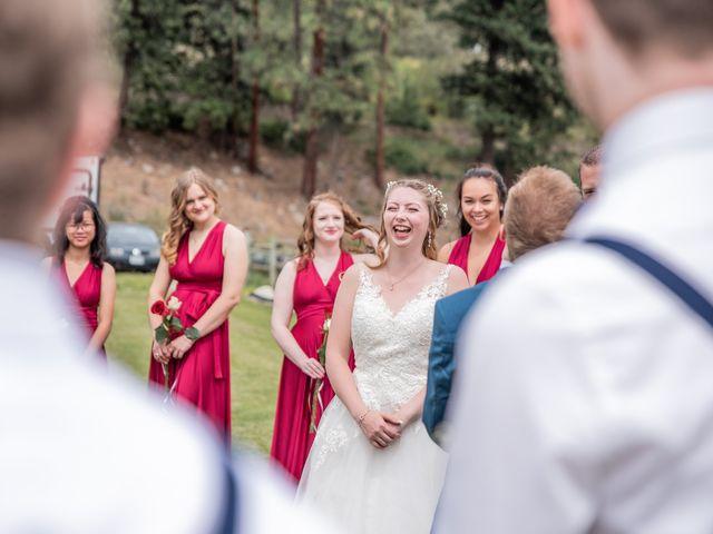 Nick and Josephine's wedding in Peachland, British Columbia 10