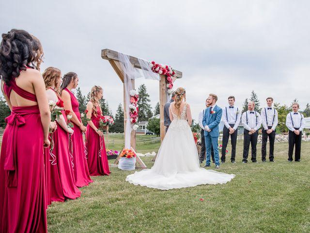 Nick and Josephine's wedding in Peachland, British Columbia 13