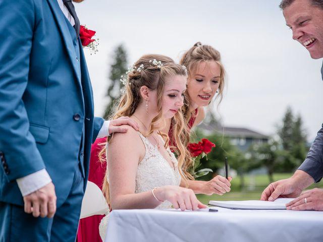 Nick and Josephine's wedding in Peachland, British Columbia 15