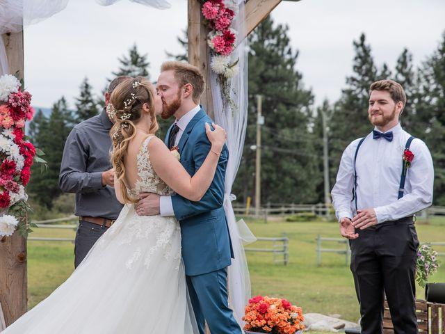 Nick and Josephine's wedding in Peachland, British Columbia 17