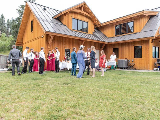Nick and Josephine's wedding in Peachland, British Columbia 19