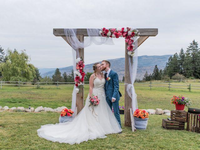 Nick and Josephine's wedding in Peachland, British Columbia 20