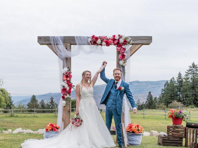 Nick and Josephine's wedding in Peachland, British Columbia 21