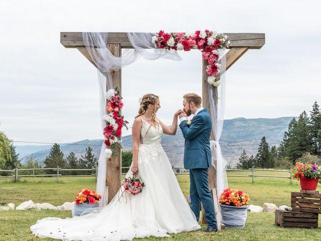 Nick and Josephine's wedding in Peachland, British Columbia 22