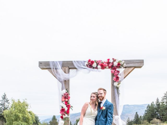 Nick and Josephine's wedding in Peachland, British Columbia 23