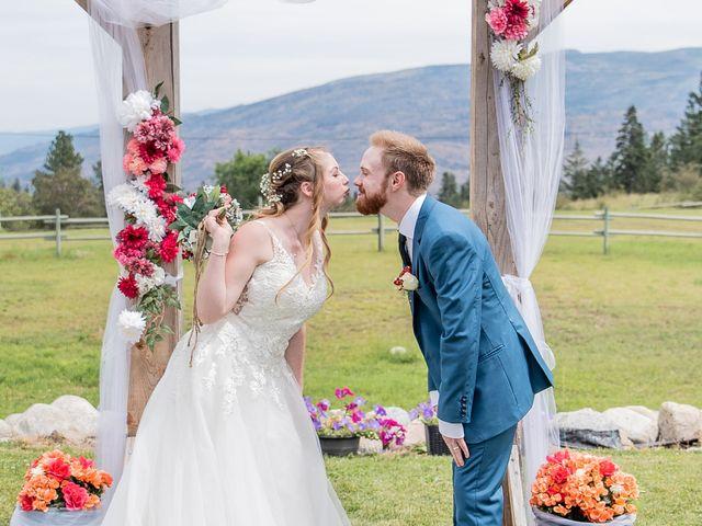 Nick and Josephine's wedding in Peachland, British Columbia 24