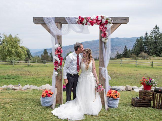 Nick and Josephine's wedding in Peachland, British Columbia 25