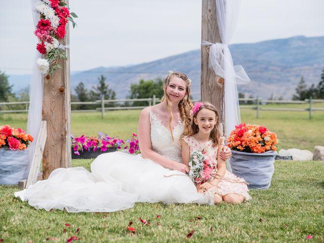 Nick and Josephine's wedding in Peachland, British Columbia 26