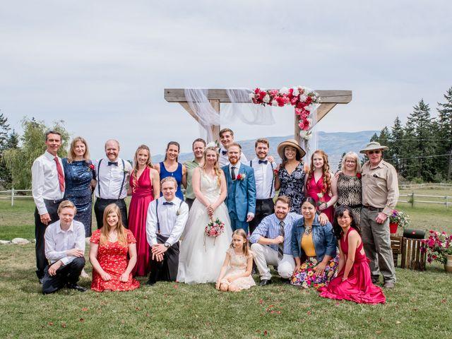 Nick and Josephine's wedding in Peachland, British Columbia 28