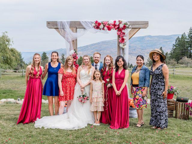 Nick and Josephine's wedding in Peachland, British Columbia 29