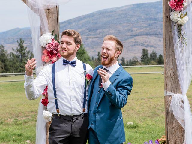 Nick and Josephine's wedding in Peachland, British Columbia 30