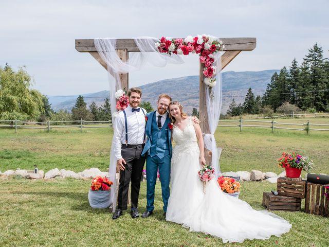Nick and Josephine's wedding in Peachland, British Columbia 31