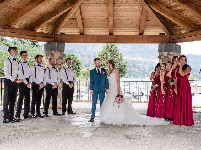 Nick and Josephine's wedding in Peachland, British Columbia 32