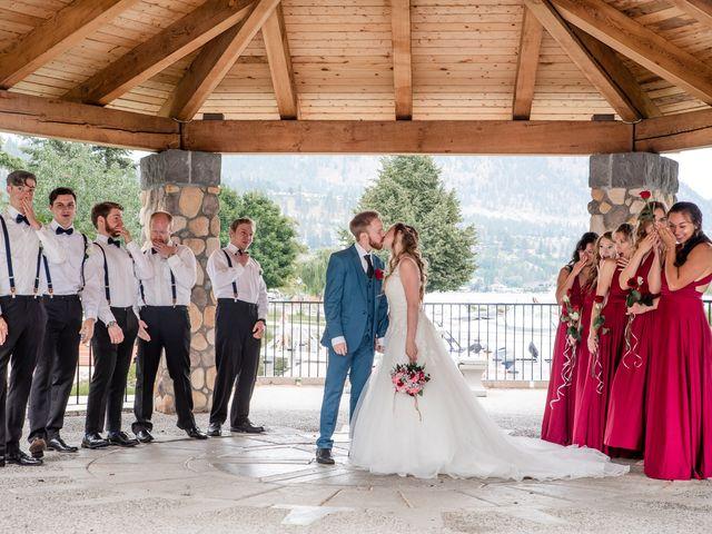 Nick and Josephine's wedding in Peachland, British Columbia 33