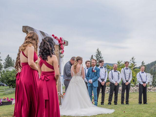 Nick and Josephine's wedding in Peachland, British Columbia 36