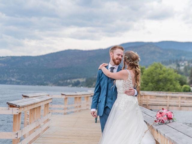 Nick and Josephine's wedding in Peachland, British Columbia 38