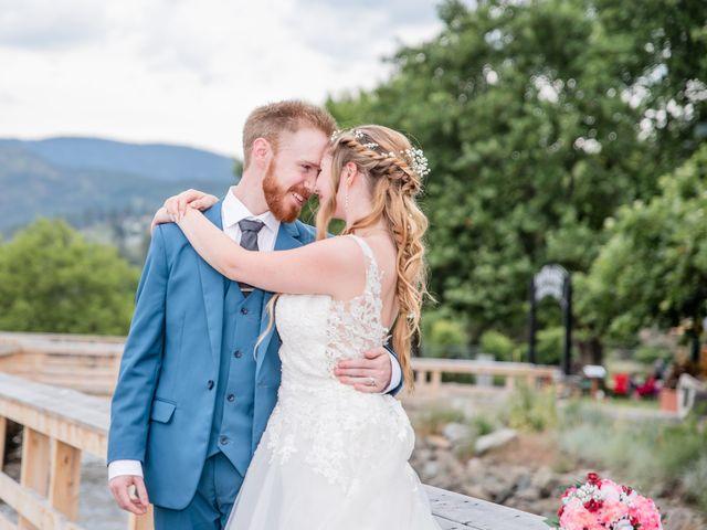 Nick and Josephine's wedding in Peachland, British Columbia 39